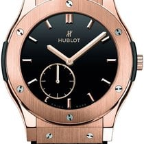 Hublot Classic Fusion Ultra-Thin Rose gold Black United States of America, New York, Brooklyn
