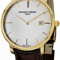 Frederique Constant Slimline Automatic Gold/Steel Silver United States of America, New York, Brooklyn