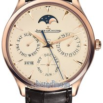 Jaeger-LeCoultre Master Ultra Thin Perpetual Rose gold 39mm Champagne United States of America, New York, Airmont
