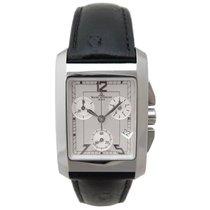 Baume & Mercier hampton xl chronograph 65341 quartz acier...