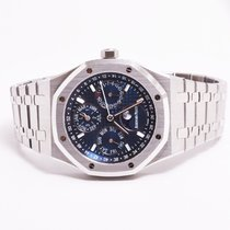 Audemars Piguet Royal Oak Perpetual Calendar Blue 26574ST