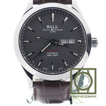 Ball Stahl Automatik Grau Keine Ziffern 43mm neu Engineer II Chronometer Red Label