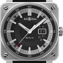 Bell & Ross BR 03-96 Grande Date BR0396-SI-ST new