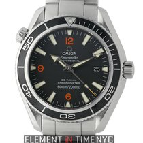 Omega Seamaster Planet Ocean Stainless Steel Black Dial 42mm