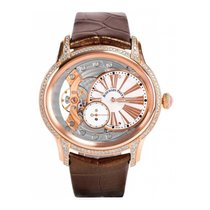 Audemars Piguet Millenary Lady Hand-Wound Rose Gold Diamond-Se...