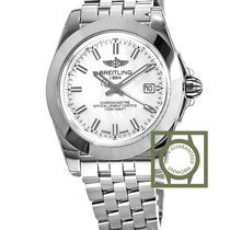Breitling Galactic 32 Sleek Edition Mother Of Pearl Dial Full...