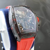Cvstos Challenge CVSTOS CHALLENGE CHRONO II RED FORGED CARBON HONOLULU New Carbon 53,7mm Automatic