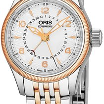 Oris Big Crown Pointer Date Gold/Steel Silver United States of America, New York, Brooklyn