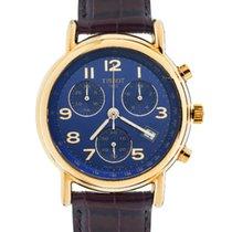 Tissot Carson gold chronograph