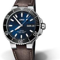 Oris Hammerhead Limited Edition 01 752 7733 4135-07 5 24 10EB ORIS DIVING AQUIS DATE Blu new