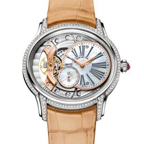 Audemars Piguet Millenary Ladies White gold 39.5mm Mother of pearl Roman numerals United States of America, New York, New York