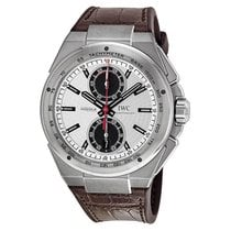 IWC Ingenieur Chronograph Steel 45mm Silver No numerals United States of America, New York, New York