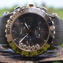 Chopard Chronograph 42mm Quarz neu Braun