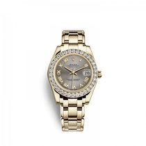 Rolex Yellow gold Automatic 34mm new Pearlmaster