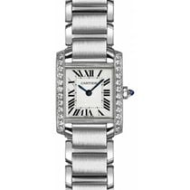 Cartier W4TA0008 Steel 2019 Tank Française 25.5mm new