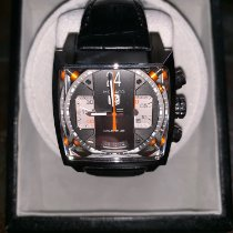 TAG Heuer Monaco Calibre 36 Steel 40.5mm Grey No numerals United States of America, Arizona