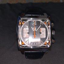 TAG Heuer Monaco Calibre 36 Steel 40.5mm Grey No numerals United States of America, Arizona
