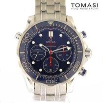 Omega Seamaster Diver 300 M Steel 44mm Blue No numerals
