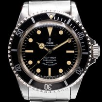 Tudor Submariner Steel 40mm Black Arabic numerals