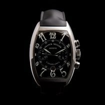 Franck Muller Casablanca Steel 39mm Black Arabic numerals