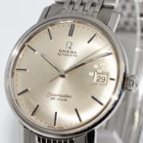 Omega Seamaster DeVille Steel 34mm Silver No numerals