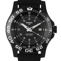 Traser Steel Automatic Black 45mm new