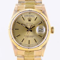 Rolex 18078 Or jaune 1986 Day-Date 36 36mm occasion