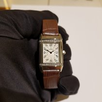 Jaeger-LeCoultre Reverso Lady new 2018 Quartz Watch with original box and original papers JLC 265.84.20