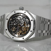 Audemars Piguet Royal Oak Double Balance Wheel Openworked Steel 41mm Transparent No numerals Australia, Melbourne