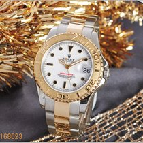 Rolex Yacht-Master 168623 Very good Gold/Steel 35mm Automatic