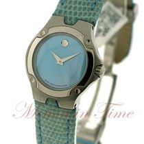 Movado S.E. (Sports Edition) Ladies, Blue Mother of Pearl Dial...