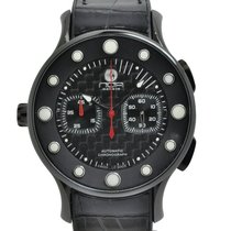 N.O.A Chronograph 44mm Automatic new Black