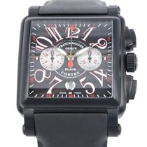Franck Muller Conquistador Stainless Steel Black Automatic...
