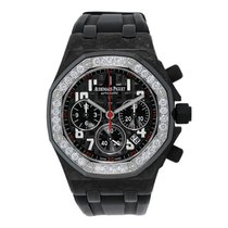 Audemars Piguet Offshore 37mm Forged Carbon with Diamonds