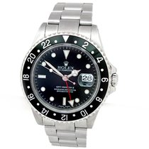 Rolex GMT-Master II #16570  Stainless Steel- P Series  2002