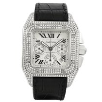 Cartier Santos 100 Chronograph XL Diamonds 2740