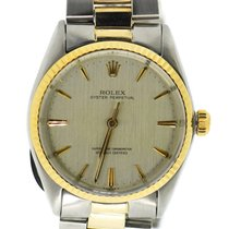 Rolex Oyster Perpetual 34 Ouro/Aço 24mm