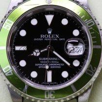 Rolex Submariner 16610LV Kermit 50th Anniversary