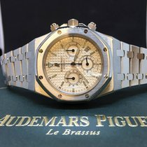 Audemars Piguet Royal Oak Chronograph 26300 - White Dial -...