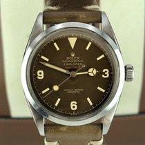 Rolex 6610 Explorer Tropical Brown Red Depth Gilt Dial...