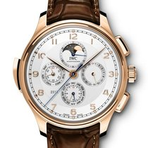 IWC Portuguese Grande Complication Red gold 45mm Silver Arabic numerals