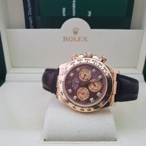 Rolex Cosmograph Daytona Black Mother Of Pearl Diamond Dial