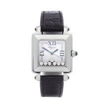 Chopard 27mm Quartz 2004 pre-owned Happy Sport White