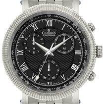 Charmex Çelik 42mm Quartz Charmex President II 2996 Qz mens watch yeni