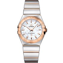 Omega Dameshorloge Constellation Quartz 27mm Quartz nieuw Horloge met originele doos en originele papieren