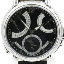 Maurice Lacroix Staal 43mm Handopwind MP7078-SS001-320 tweedehands Nederland, Nijmegen  (www.horloge-sieraden.nl)