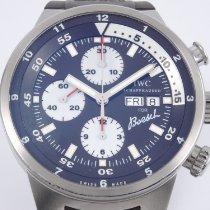IWC Aquatimer Chronograph Steel 44mm Brown Arabic numerals