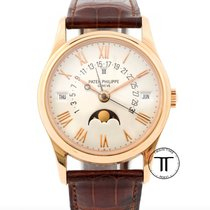 Patek Philippe 5050R Rose gold 1990 Perpetual Calendar 36mm pre-owned United States of America, New York, New York