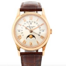 Patek Philippe Perpetual Calendar Rose gold 36mm Silver Roman numerals United States of America, New York, New York
