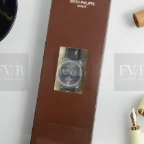 Patek Philippe Platinum Automatic Grey No numerals 39mm new Annual Calendar